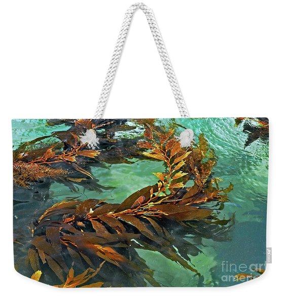 Swaying Seaweed Weekender Tote Bag