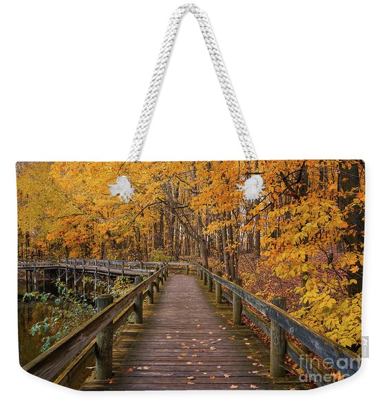 Sweet Autumn Memories Weekender Tote Bag