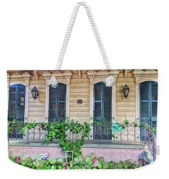 Sweet Cream And Ivy Weekender Tote Bag