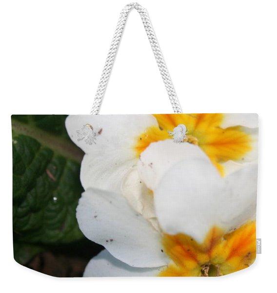 Sweet Primrose Weekender Tote Bag