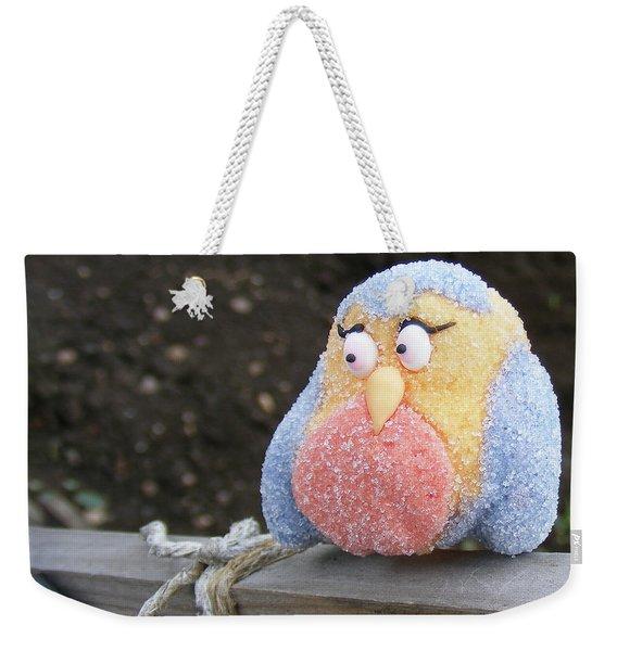 Sweetly Shy Weekender Tote Bag
