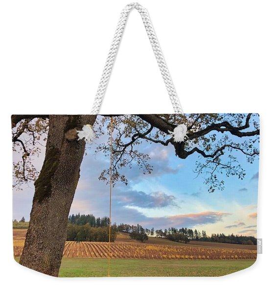 Swing In Tree Weekender Tote Bag