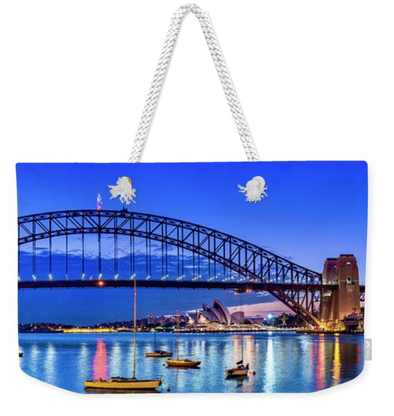 Sydney Harbour Brilliance Weekender Tote Bag