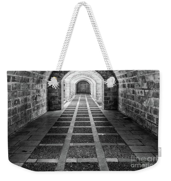 Symmetry In Black And White Weekender Tote Bag