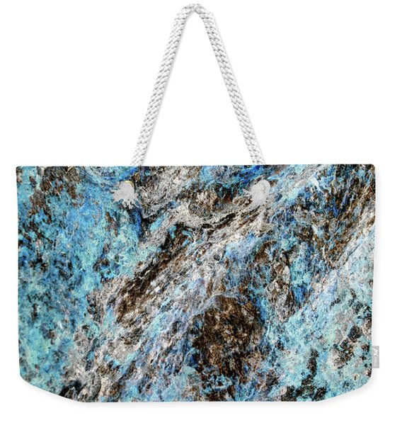 Symphony Of Blues Abstract Art Weekender Tote Bag