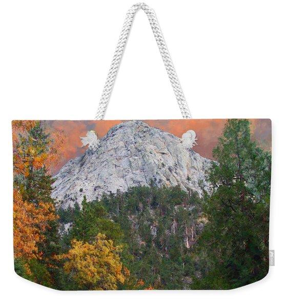 Tahquitz Peak - Lily Rock Painted Version Weekender Tote Bag
