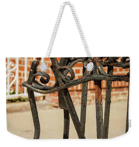 Take A Bow Weekender Tote Bag