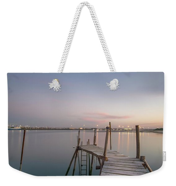 Take A Walk Weekender Tote Bag