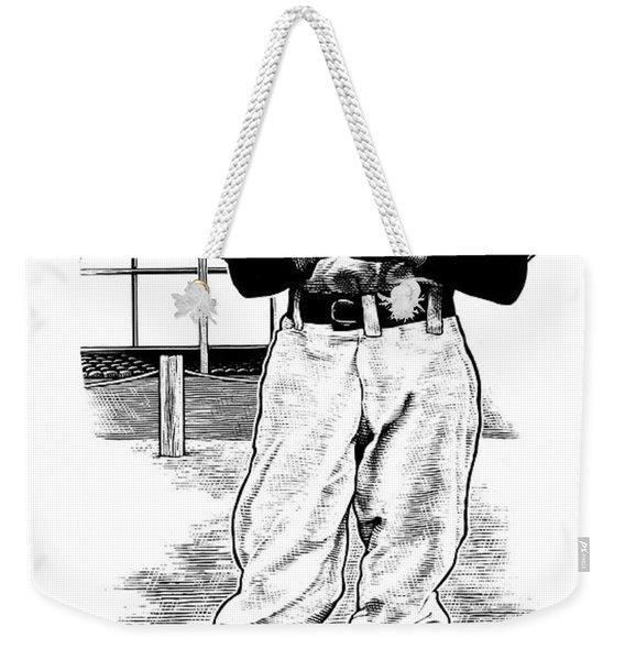 Take Me Out To The Ballgame Weekender Tote Bag