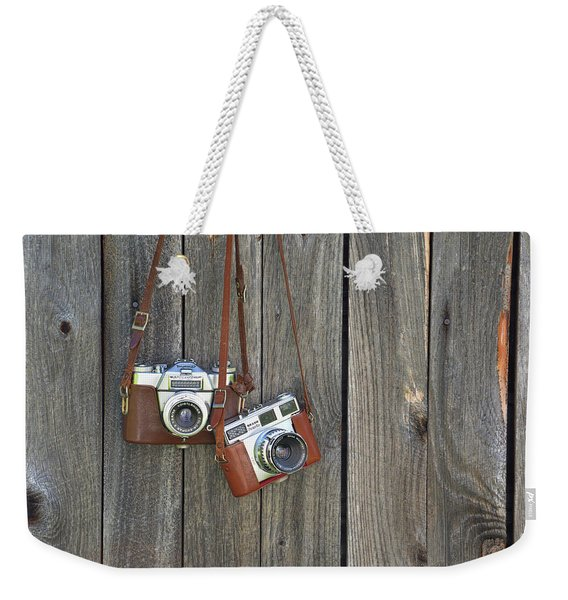 Weekender Tote Bag featuring the photograph Take My Picture by Jamart Photography