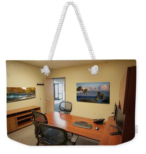 Tamara Office East Wall Weekender Tote Bag