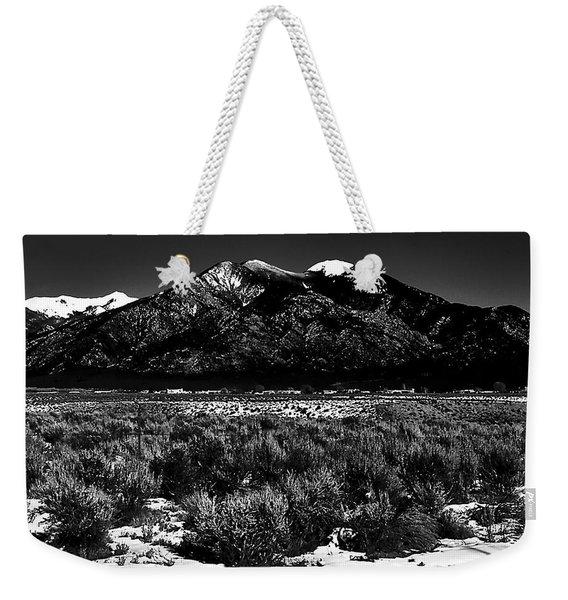 Taos Mountain In The Zone Weekender Tote Bag