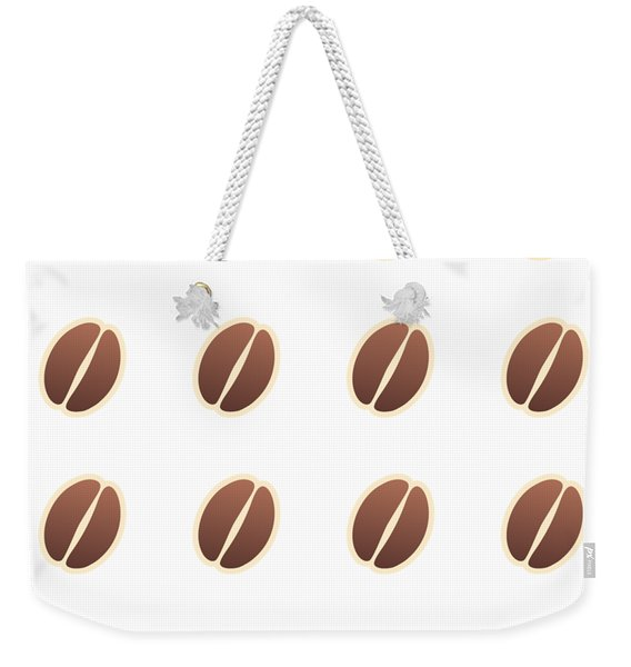 Tasty Coffee Seamless Pattern Weekender Tote Bag