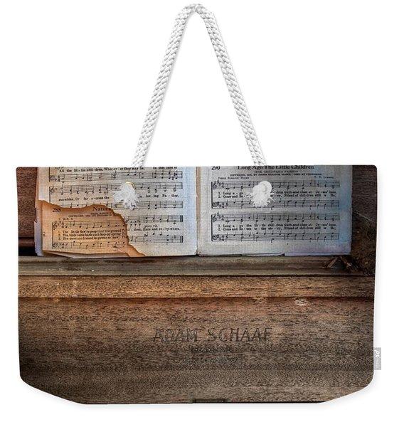 Tattered Faith 2 Weekender Tote Bag