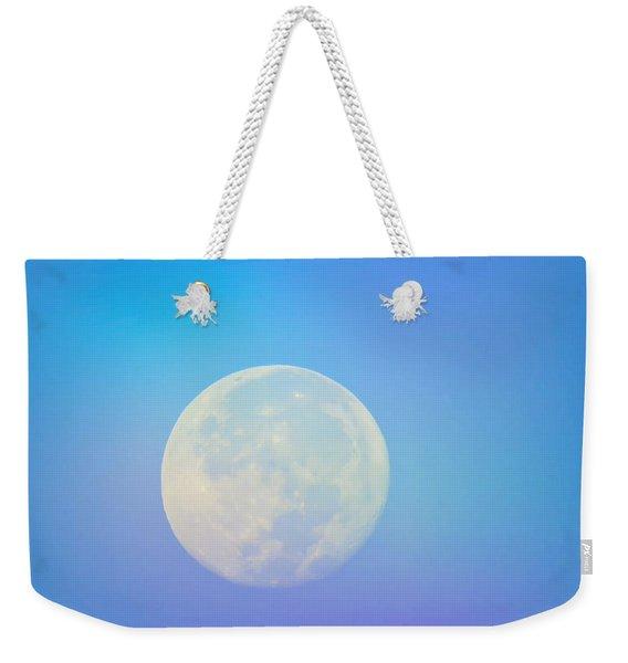 Taurus Almost Full Moon Blend Weekender Tote Bag