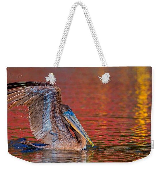 Tchefuncte Pelican Weekender Tote Bag