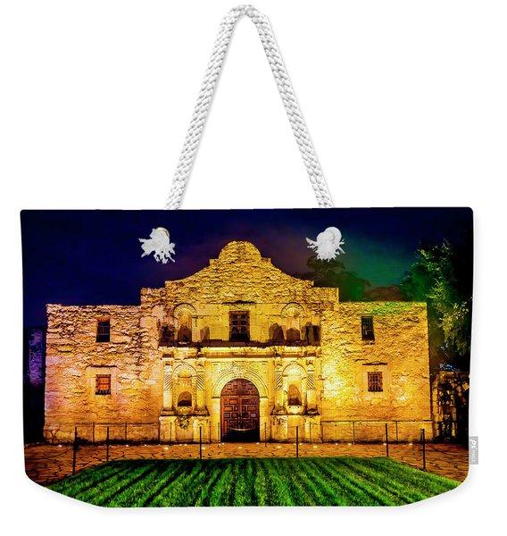 Te Alamo At Night Weekender Tote Bag