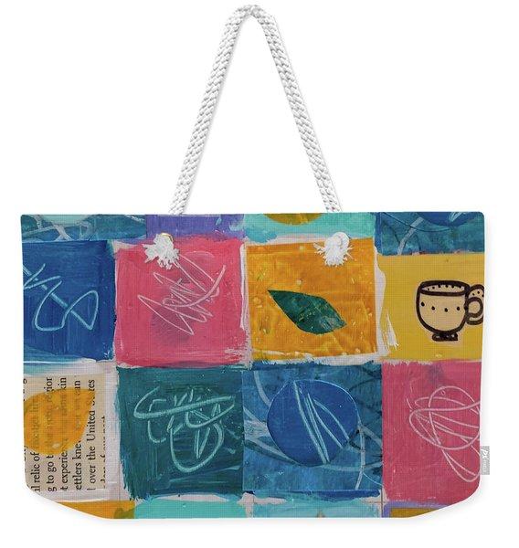 Tea Box One Weekender Tote Bag