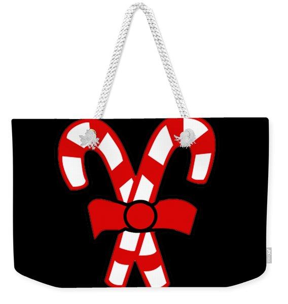 Weekender Tote Bag featuring the digital art Team Naughty by Flippin Sweet Gear
