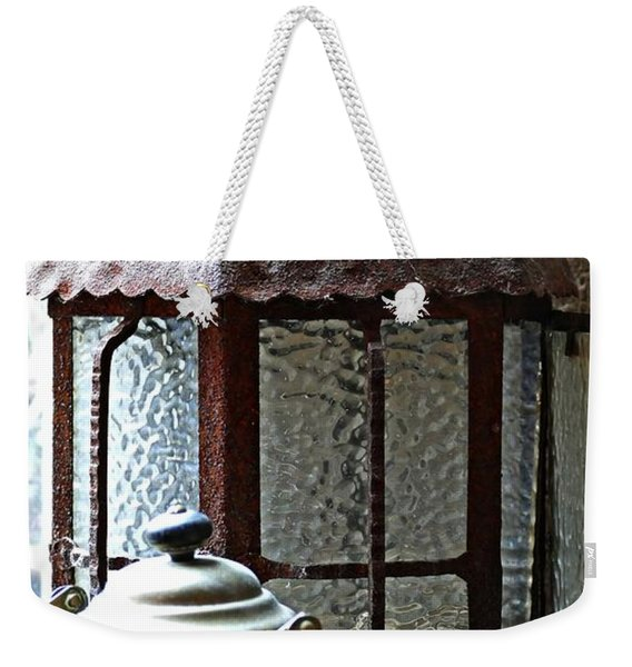 Teapot And Lantern Weekender Tote Bag