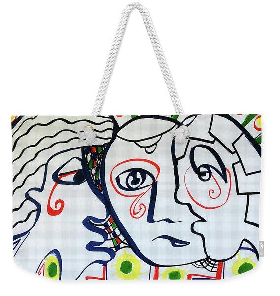Tears Weekender Tote Bag
