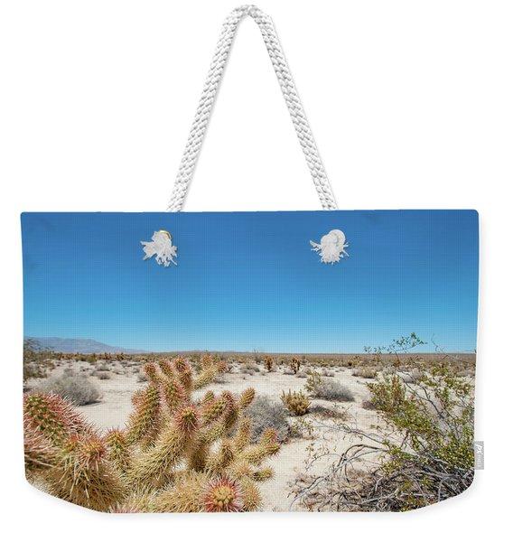 Teddy Bear Cactus Weekender Tote Bag