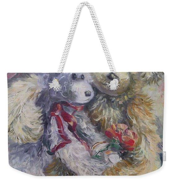 Teddy Bear Honeymooon Weekender Tote Bag
