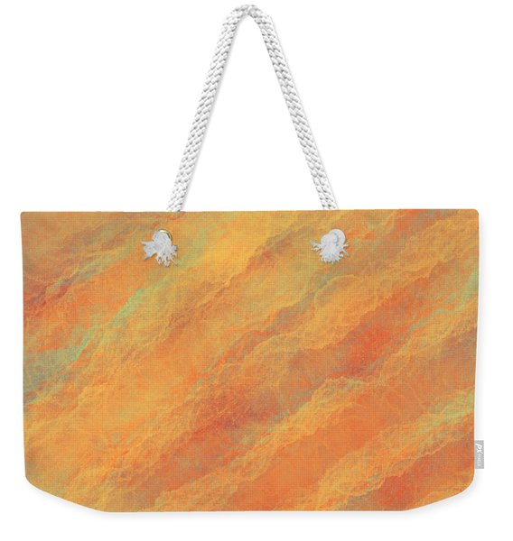 Tempered Lava Weekender Tote Bag