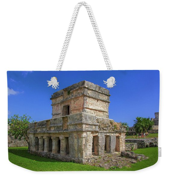 Temple Of The Frescoes Weekender Tote Bag