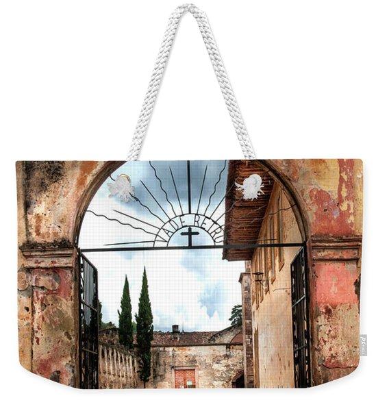 Templo Del Sagrario Weekender Tote Bag