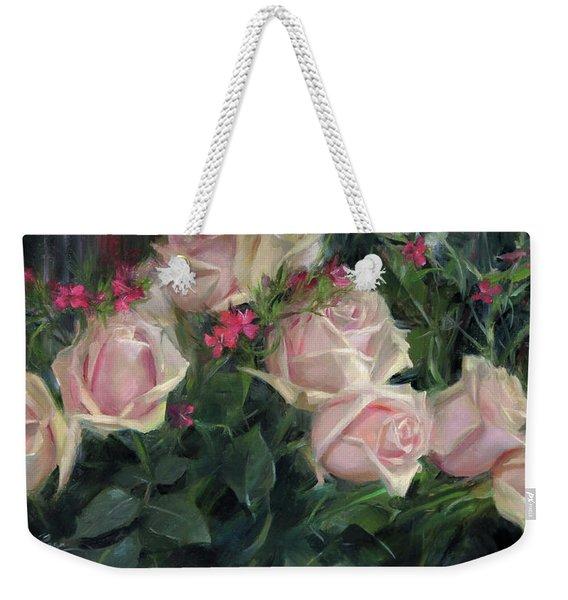 Ten Roses Weekender Tote Bag