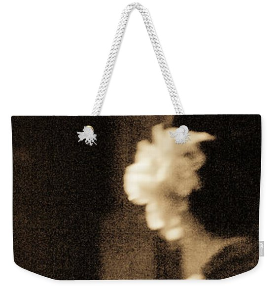 Weekender Tote Bag featuring the photograph Tenderness by Catherine Sobredo