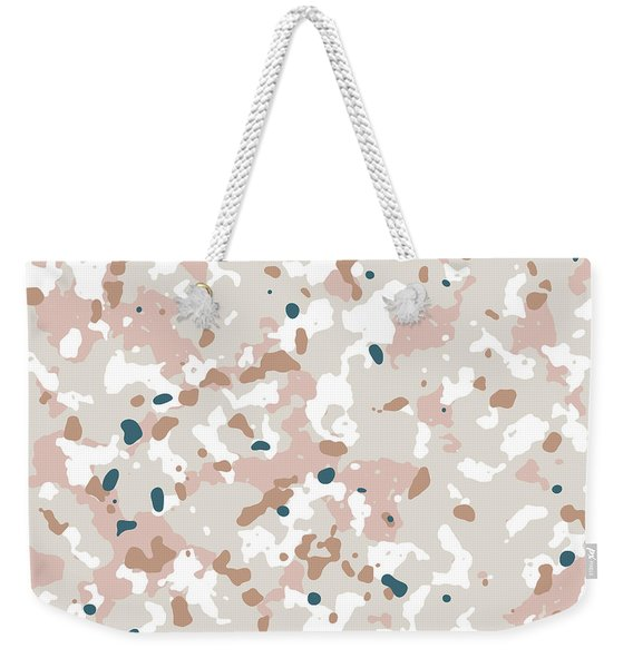 Terrazzo Splash 1- Art By Linda Woods Weekender Tote Bag