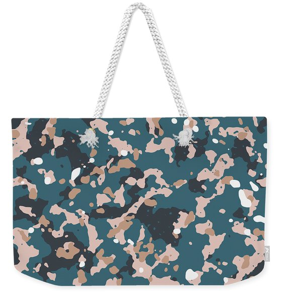 Terrazzo Splash 2- Art By Linda Woods Weekender Tote Bag