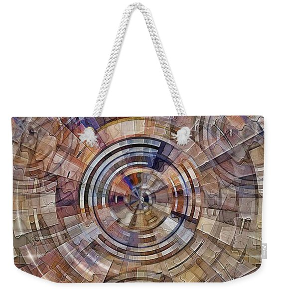 Test Pattern Weekender Tote Bag