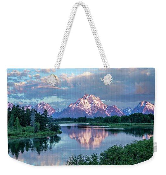 Teton Oxbow Bend  Weekender Tote Bag