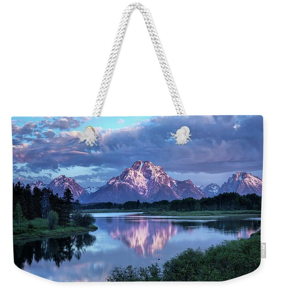 Teton Oxbow Morning 9087 Weekender Tote Bag