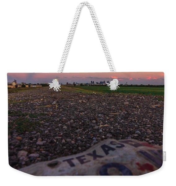 Texas Tags Weekender Tote Bag