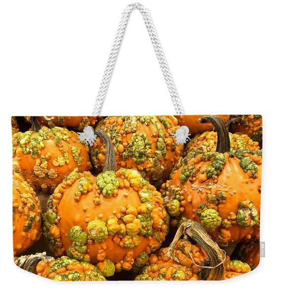 Textured Pumpkins  Weekender Tote Bag