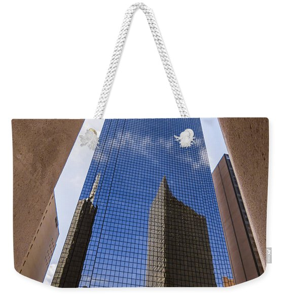 Thanksgiving Tower Weekender Tote Bag