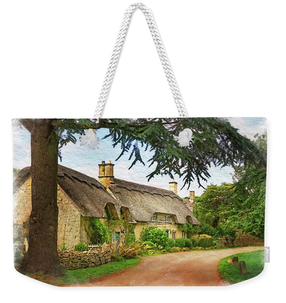 Thatched Roof Lane Weekender Tote Bag