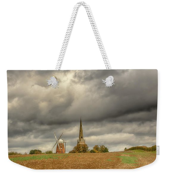 Thaxted - An English Countryside View Weekender Tote Bag