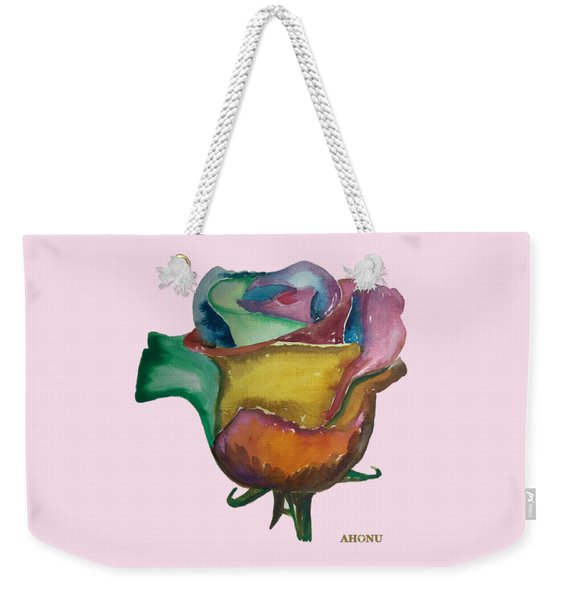 The 1111 Global Rose Weekender Tote Bag