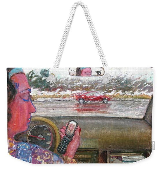 The Accident Weekender Tote Bag