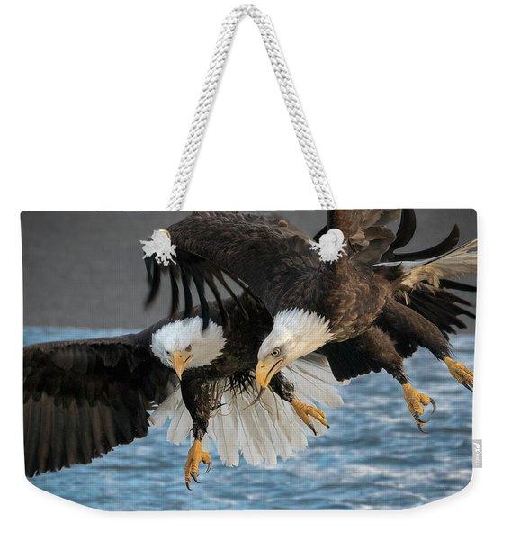 The Aerial Joust Weekender Tote Bag