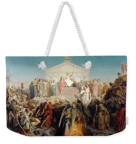 The Age Of Augustus And The Birth Of Jesus Christ Weekender Tote Bag