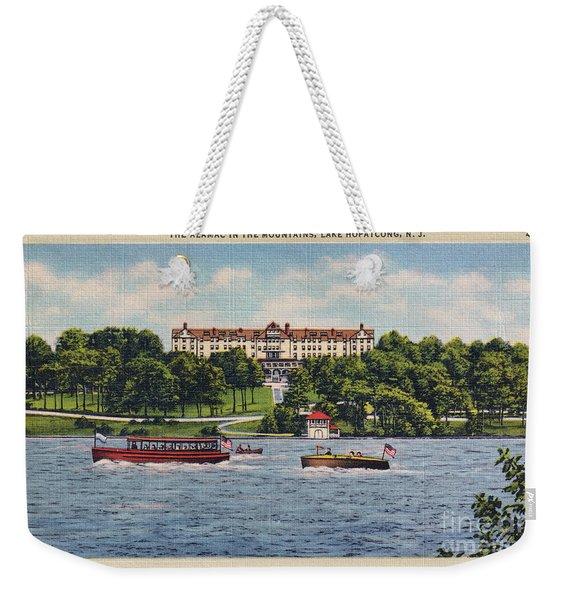 The Alamac Or Breslin Hotel Weekender Tote Bag