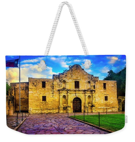 The Alamo Fortress Weekender Tote Bag