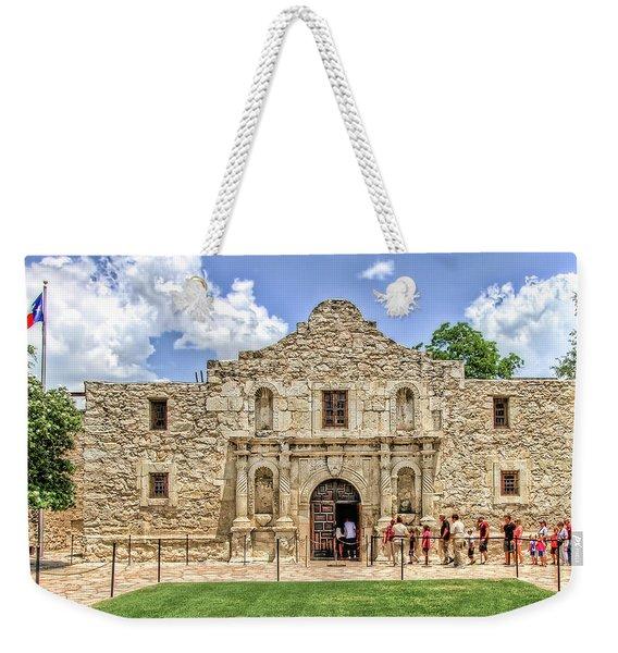 The Alamo, San Antonio Texas Weekender Tote Bag