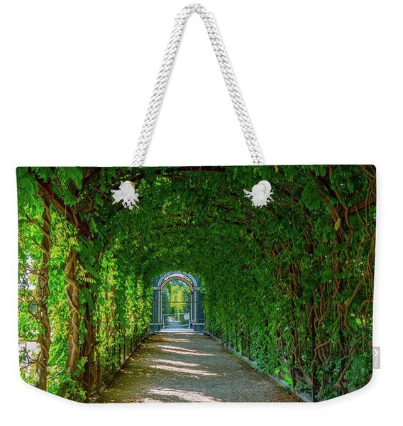 The Alley Of The Ivy Weekender Tote Bag